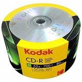 Boş Cd Kodak Cd R 52x 700 Mb 50li Cd*
