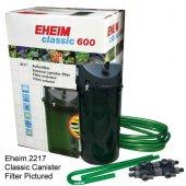 Eheim 2217 02 (Classic 600) Dış Filtre 1000 L H Musluklu