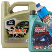Lubex Syn 0w 30 4 Litre Tam Sentetik Motor Yağı +3lt Antifriz+csu