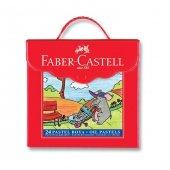 Faber Castell Çantalı 24lü Pastel Boya
