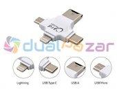 Ipad 4 İpad Air İphone 5 Kart Okuyucu Android Type C Micro Usb