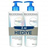 Bioderma Atoderm Cream 500 Ml Krem Alana 500 Ml Bedava