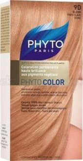 Phyto Color 9d Blond Tres Clair Dore