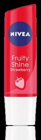 Nivea Lip Fruity Shine Çilek 4,8 G