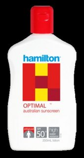 Hamilton Optimal Güneş Losyonu Spf 50+ 250 Ml Yeni Sezon