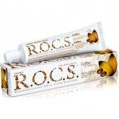 Rocs Kahve &amp Tütün Lekelere Karşı Diş Macunu 60ml