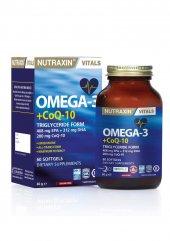 Nutraxin Omega3+coq 10 60 Yumuşak Kapsül