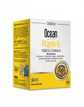 Ocean Vitamin D3 Damla 1000 Iu 50ml