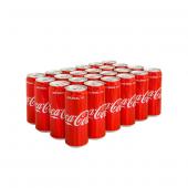 Coca Cola Kutu 330ml. 24 Adet