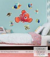 Nemo Balıklar Lisanslı Çocuk Bebek Odası Duvar Stıcker