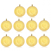Tam Altın Darphane 10 Adet Paket (2018)