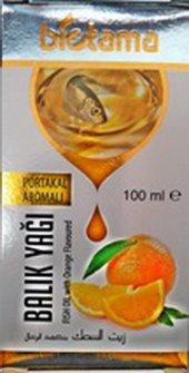 Balık Yağı 100 Ml Portakal Aromalı Biotama