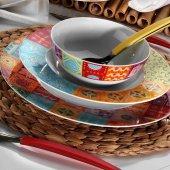 Kütahya Porselen Leonberg 8660 24 Parça Yemek Takımı