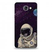 Samsung A9 Kılıf Selfi Astronot Desenli Kılıf