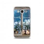 Samsung Core Prime Kılıf Pencere Manzarası Desenli Kılıf