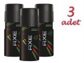 Axe Deodorant 3x150ml Africa