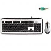 A4tech Kl 2350d Ps 2 Xslim Kablolu Mıltımedya Klavye Mouse Set