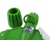 Intermop Islak Mop Tutucu (Paspas Aparatı) Yeşil