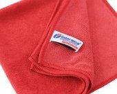 Intermop Mikrofiber Premium 65gr Parlak Doku Genel Temizlik Bezi Kırmızı 40x40cm