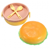 Hamburger Şeklinde Beslenme Ve Saklama Kabı