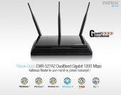 Everest Ewr 527a2 Dual Band Gigabit 1200 Mbps Repeater+access Point+bridge Client Kablosuz