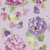 Ithal Çiçek Desenli Duvar Kağıdı (Opera 661903) 31,90tl