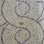 Mozaik Doğal Taş Desenli Duvar Kağıdı