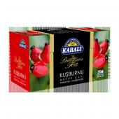 Karali Premium Bardak Poşet Kuşburnu Çayı 20li