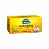 Karali Karadeniz Demlik Poşet Siyah Çay 100lü