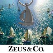 Zeus&co. Yelkenli Anahtarlık Hediye Kesesi İle Birlikte
