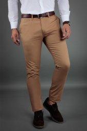 Brango 50124 6 Dar Kalıp Sarı Pantolon