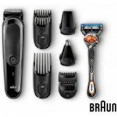 Braun Mgk3060 8&#039 İ 1 Arada Erkek Bakım Kiti Mack Easygo Sırt Cantası Hedıyelı