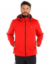 Björnson Softshell Kayak Ceketi Kırmızı