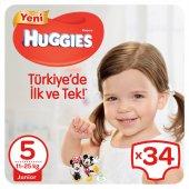 Huggies Bebek Bezi Jumbo Paket 5 Beden 34 Adet