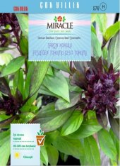 Miracle Tarçın Kokulu Fesleğen Tohumu (250 Tohum) 20 Adet