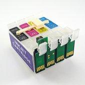 Epson T1281 T1284 Uyumlu Ciss Kartuş 4 Renk