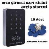 Rfıd Şifreli Elektronik Kapı Kilidi Kartlı Göstergeç Kontrol Sist
