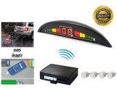 Inwells E2 Led Ekranlı Sesli Geri Park Sensörü Beyaz