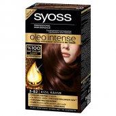 Syoss Amonyaksız Saç Boyası 3.82 Kızıl Kahve