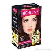 Bıoblas Saç Dökülmesine Karşı Saç Boyası 4.4 Kestane Bakır