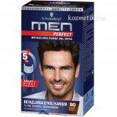 Schwarzkopf Men Perfect Erkeklere Özel Saç Boyası 80 Kahve Siyah