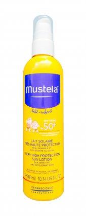 Mustela Protective Spray Spf 50+ 300 Ml Güneş Losyonu