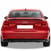 Audi A3 Sedan 2013 Sonrası Votex Spoiler (Fiber)