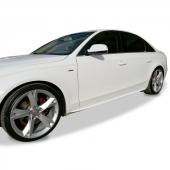 Audi A5 2008 Sonrası S Line Yan Marşpiyel Seti (Fiber)