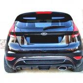 Ford Fiesta 2009 2016 Izgaralı Arka Tampon Eki Dif...