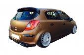 Opel Corsa D 2007 2013 Spoiler (Fiber)