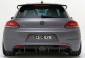 Volkswagen Scirocco 2009 2014 R Cup Spoiler (Fiber)