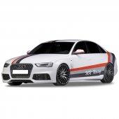 Audi A4 B8 2008 2012 Rs4 Yan Marşpiyel Seti (Plastik)
