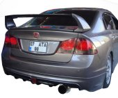 Honda Civic Fd6 2006 2011 Mugen Rr Tek Çıkış Arka ...