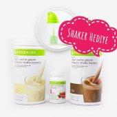 Herbalıfe 1 Vanilya+1 Çikolatalı Shake+1 Adet 50 Gr Çay+1 Shaker